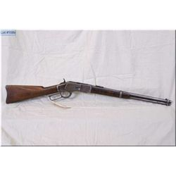 "Winchester mod 1873 Third Model Circa 1892 .44 WCF cal lever action saddle ring Carbine w/20 "" rnd b"