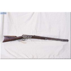 Winchester model 1886 Circa 1888 ( Third year of Production) .40-65 WCF lever action Rifle w/26  oct