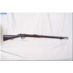"""Enfield Martini mod 1887 No 1V  MK 1 .577/450 cal full wood Military Two Band Long Lever Rifle w/33"""""""