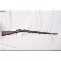 """Remington No 1 Rolling Block .50 Centre Fire cal ? Full wood  Three Band Military Rifle w/36"""" bbl ["""