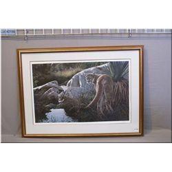 R.S. Parker Fr. Ltd Edition Print, Creekside Cougar, # 461/950  1986