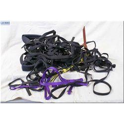 Nylon Travel Bag : Nylon single trace training harness, & nylon riding crop