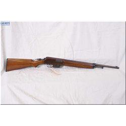 "Winchester mod 1910 .401 SL cal clip fed semi auto Rifle w/20"" bbl [ re-blued finish turning plum co"