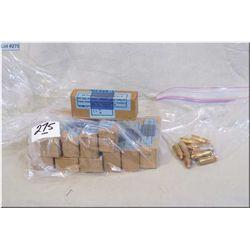 Bag Lot : 11 Boxes ( 16 rnds per) Nazi .9 MM ammo - Bag : 10 rnds .9 MM ammo