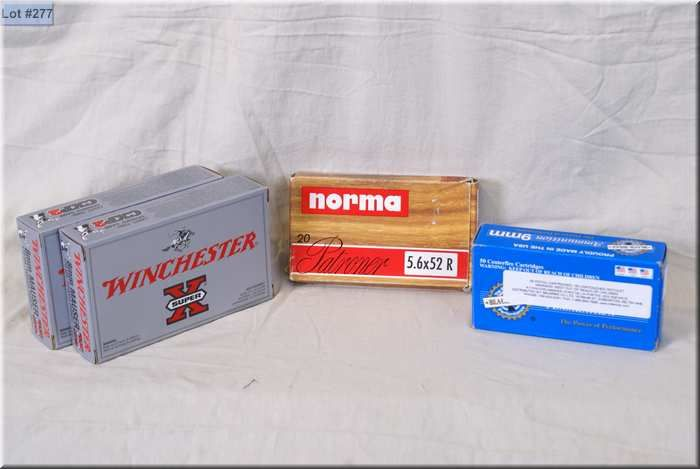 Bag Lot : 2 Boxes Win  8MM Mauser 170 gr ammo - 1 Box