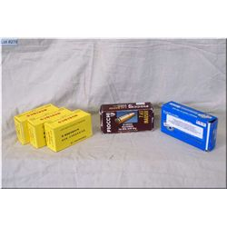 Bag Lot : 3 Boxes ( 60 rnds per ) Norinco 7.62 x 25 MM ammo - Loose rnds .9 MM Brass - 50 Rnds 7.63
