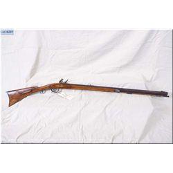 "Tennessee Style Half Stock Left Hand Flintlock .45 cal Flintlock Rifle w/32"" oct bbl [ browned finis"