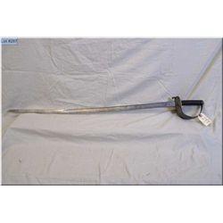 British Cavalry Trooper's Sword , 1882/1885/1890   Mnf under contract in Germany by WEYERSBERG KIRSH