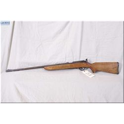 "Marlin mod 80 DL .22 LR cal clip fed bolt action Rifle w/24"" bbl [ missing clip, pin taped to end of"