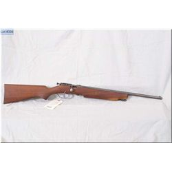 "Cooey mod HWC .22 LR cal single shot bolt action Rifle w/20"" bbl [ blue finish fading to grey, barre"
