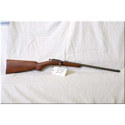 "Cooey mod ACE-1 .22 LR cal single shot bolt action boy's Rifle w/17"" bbl [ faded blue finish, barrel"
