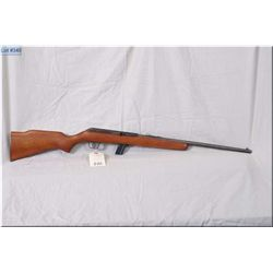 "Sears mod 8C ( Copy of 64 B) .22 LR cal clip fed semi auto Rifle w/20"" bbl [ blue finish starting to"