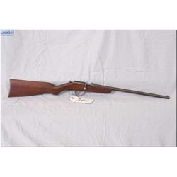 "Cooey ACE 1 .22 Rimfire cal single shot bolt action Rifle w/17"" bbl [ blue finish faded to grey, bar"