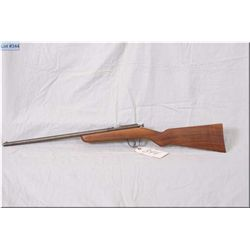 "Cooey ACE III .22 LR cal single shot bolt action boy's Rifle w/17"" bbl [ patchy blue finish fading t"