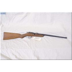 "Cooey mod ACE 1 .22 LR cal single shot bolt action boy's  Rifle w/17"" bbl [ blue finish, fading to g"