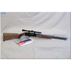 "Winchester mod 190 .22 LR cal tube fed semi auto Rifle w/20 3/4"" bbl [ appears excellent, blue finis"