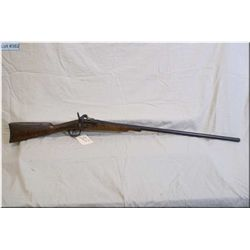 "Unknown German mod Flip Block .12 Ga single shot Shotgun w/32"" bbl [ blue finish turning brown, side"