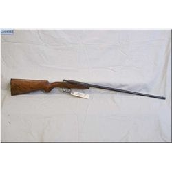 "Deutsche Werke mod 1 .22 LR cal Tip Up Rifle w/23"" bbl [ faded blue finish w/some surface rust, roun"