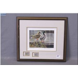 "Robert Bateman Framed Ltd Edition Print , Signed by Artist ""Early Winter"", & Canada's First Habitant"