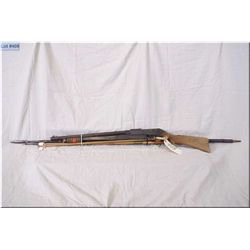 Bundle Lot : Daisy mod 25 pump act BB Gun - Antique bamboo spear - two antique wooden cleaning rods