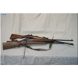 Lot of Three Rifles : Two Enfield Rifles, Barrels & Actions w/wood only - Note : missing bolts, clip