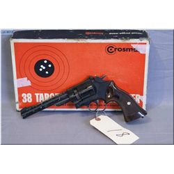 Crosman mod 38 Target .22 Pellet cal C02 Powered Pellet Pistol [ w/orig box ] No PAL REQ USE W/CARE