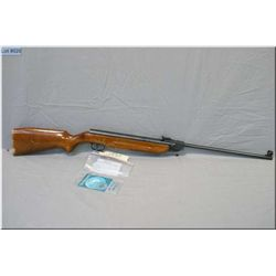 "Weihrauch mod HW50 .177 cal single shot Pellet Rifle w/18 1/4"" bbl [ blue finish, barrel sights, int"