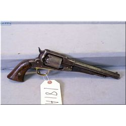 """Remington mod 1858 Old Model Style ( without new model stamping ) .44 Perc cal 6 shot Revolver w/8"""""""