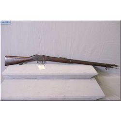 "Martini Enfield model 1887 # 1V MK I .577/450 cal single shot full wood Military Rifle w/33"" bbl [ b"