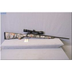 "Savage mod Edge .7 MM-08 cal clip fed bolt action Rifle w/22"" bbl [ blue finish, w/Savage Vista Real"