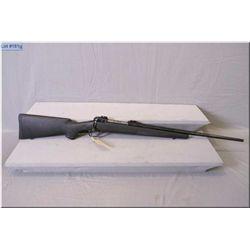 "Savage mod 111 .30-06 cal clip fed bolt action Rifle w/22"" bbl  [blue finish, scope bases, black com"