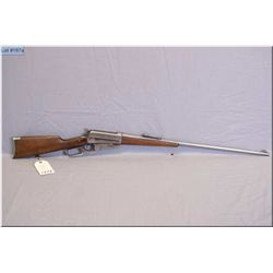 """Winchester mod 1895 .30 Army ( .30-40 Krag) cal lever action Rifle w/28"""" bbl [ Circa 1915, traces of"""
