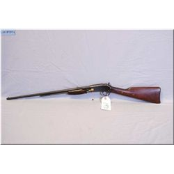 """Colt mod Lightning Small Frame .22 Long cal pump act Rifle w/24"""" oct bbl [ re-blued finish, dust cov"""