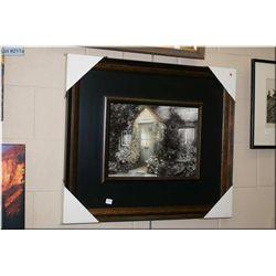 """Framed print """"The Grey Cottage"""""""