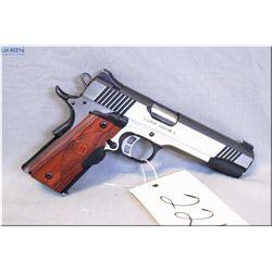 Kimber mod 1911 Eclipse Custom II .10 MM cal  8 shot semi automatic pistol w/127 mm bbl [ appears ex