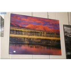 Daryl Benson limited edition giclee 4/50 of Mountain scape