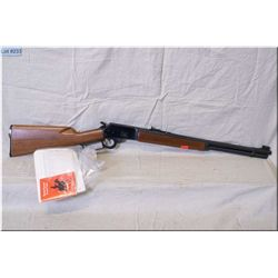 "Marlin mod 1894 .44 Rem Mag cal Rifle w/20"" bbl [ appears excellent, blue finish, barrel sights, wal"
