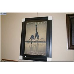 "Framed giclee ""Mystic South Africa"""