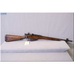 "Lee Enfield ROF (F) .303 cal full wood Military Jungle Carbine w/20""' bbl [ blue finish starting to"