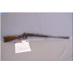 """Winchester mod 1873 First Model .44 WCF cal lever action Rifle w/26"""" (Trimmed from the original 28"""""""