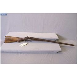 "Spencer & Co. mod The Interchangeable .12 Ga Side By Side Hammer Shotgun w/30 "" bbls [ fading blue f"