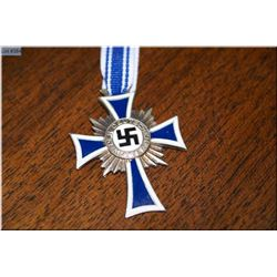 "Silver German's Mother Cross ""Der Deutschen Mutter"" [ The child ennobles the Mother, given to women"
