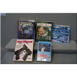 Box Lot : 4 Books : Brownell's Catalogue - Gun Digest 45 Th Edit - 13 Th Edit Blue Book - Gun Digest