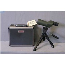 Winchester Spotting Scope with tri-pod etc. w/orig foam lined luggage style carrying case