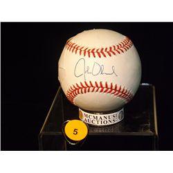 John Olerud Autographed Baseball.  Rawlings Official MLB - appraised or estimated retail value $200.