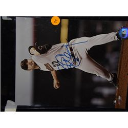 Roger Clemons Autographed Photo.  8x10 Color Photo.  Appraised or estimated retail value $150.  COA