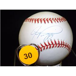 Alex Rodriguez Autographed Baseball.  Rawlings Official NLB.  Appraised or estimated retail value $3