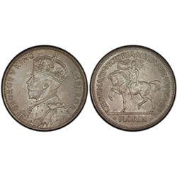 1934-35 Florin Centennial PCGS MS65