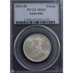 1916-M Florin PCGS MS63