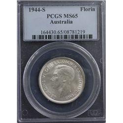 1944 S Florin PCGS MS 65